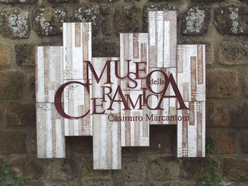 Uno Ceramica Civita Castellana.Museo Della Ceramica